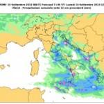 Perturbazione atlantica in arrivo: nuove piogge sulle Tirreniche