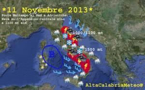 Previsioni 11 Novembre 2013