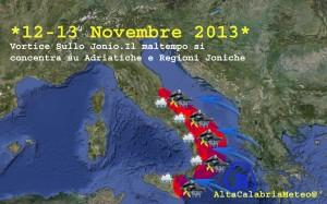 Previsioni 12-13 Novembre 2013