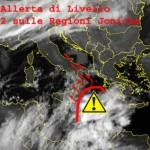 Super Ciclone in arrivo al sud: allarme sulle Regioni Joniche