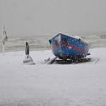 Tempesta artica in arrivo: neve sin sul mare su adriatico e sud