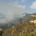 Emergenza incendi  sull'Alto Jonio