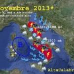 """L' """"invernata di san Martino"""": si apre una lunga fase di maltempo al Sud e Adriatiche"""