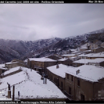 Maltempo: forti nevicate in Basilicata e sul Pollino