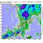 Goccia fredda in traslazione sullo Jonio: allerta temporali al sud